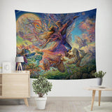 Titania And Oberon Tapestry