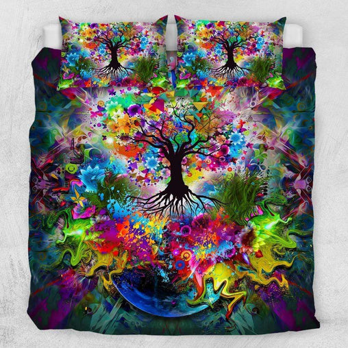 Tree Of Life Quilt Cover Set-Little Squiffy