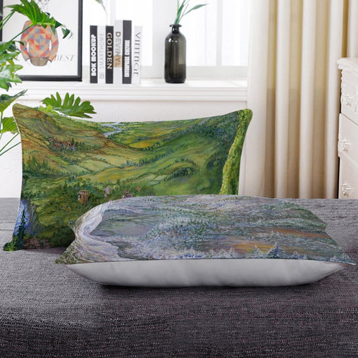 Tree Of Four Seasons Pillow Cases
