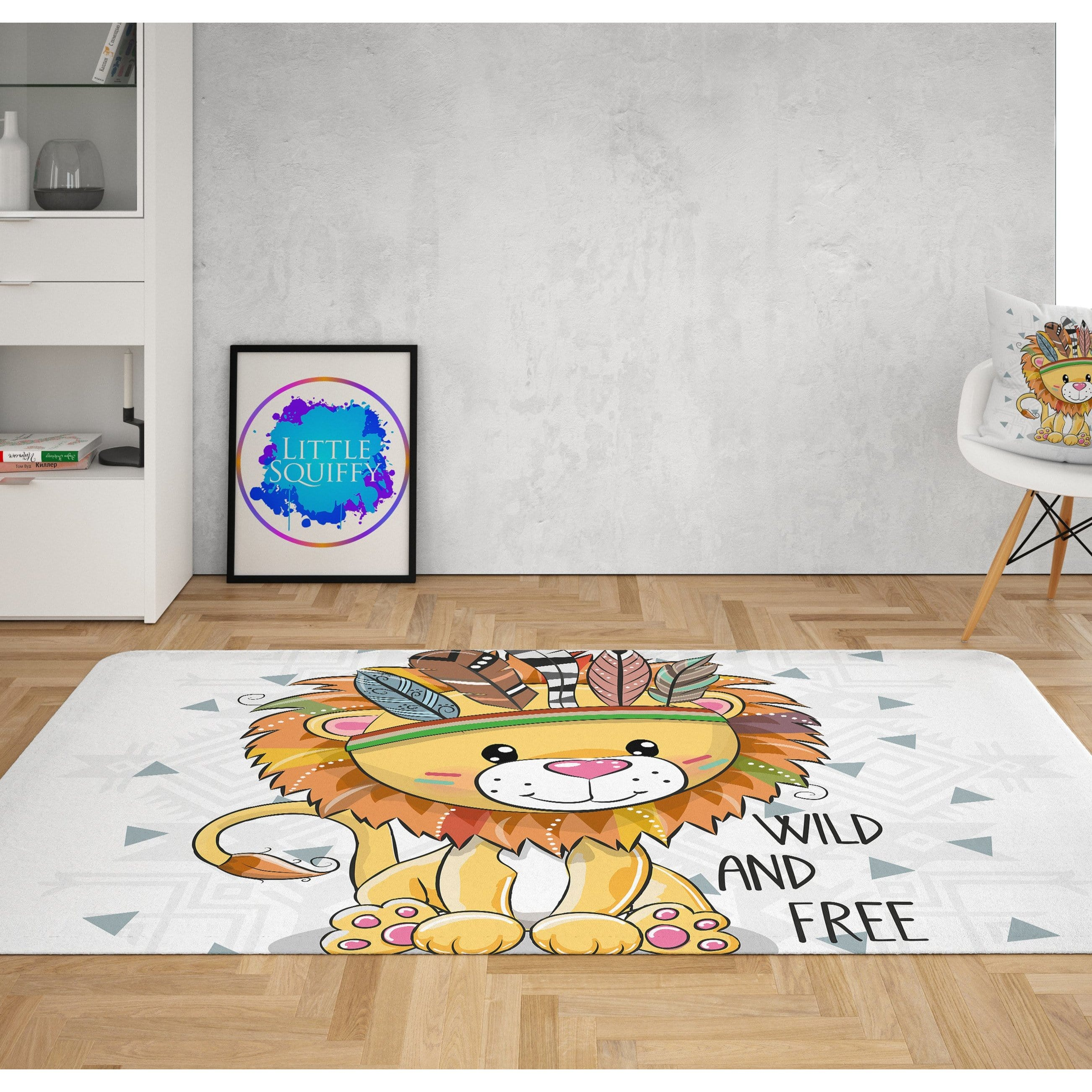 Wild and Free Cub Mat