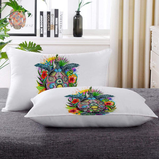Turtle Of Life Pillow Cases-Little Squiffy