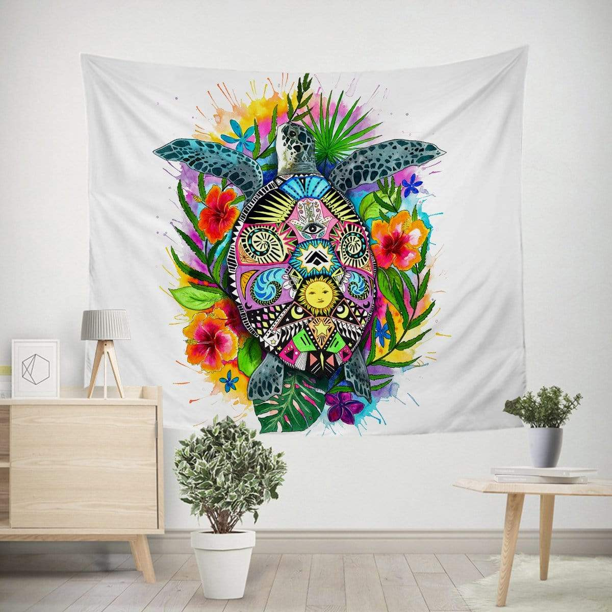 Turtle of Life Tapestry-Little Squiffy