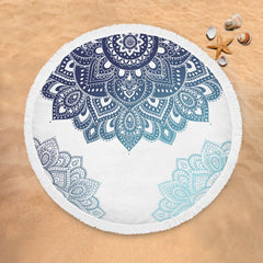 Amalia Mandala Lightweight Beach Towel-Amalia Mandala-Little Squiffy