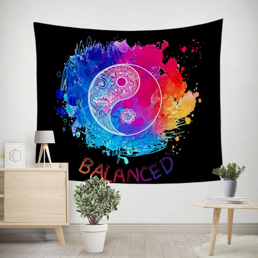 Yin Yang - Balanced Tapestry-Little Squiffy
