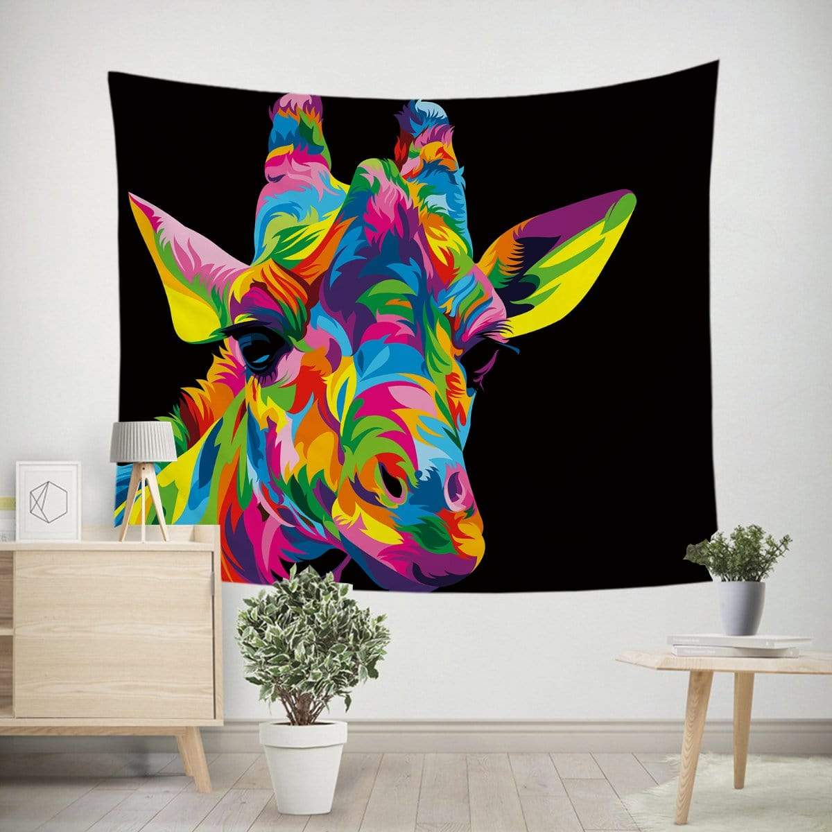 Royal Giraffe Tapestry-Little Squiffy