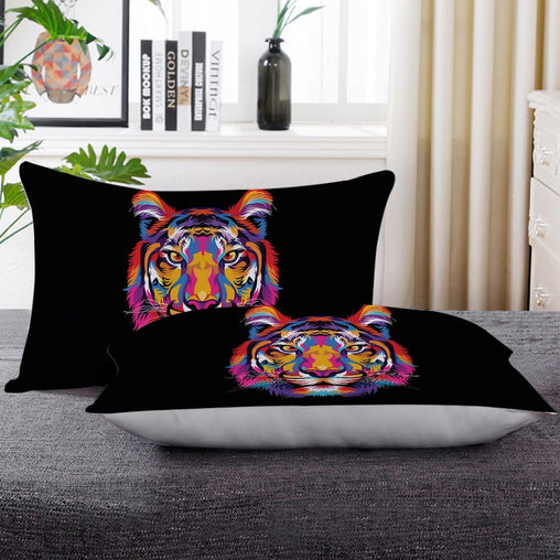 Bright Tiger Pillow Cases
