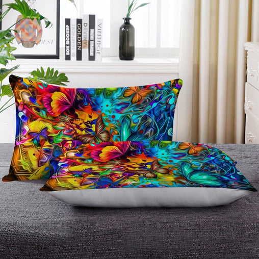 Butterfly Burst Pillow Cases-Butterfly Burst-Little Squiffy