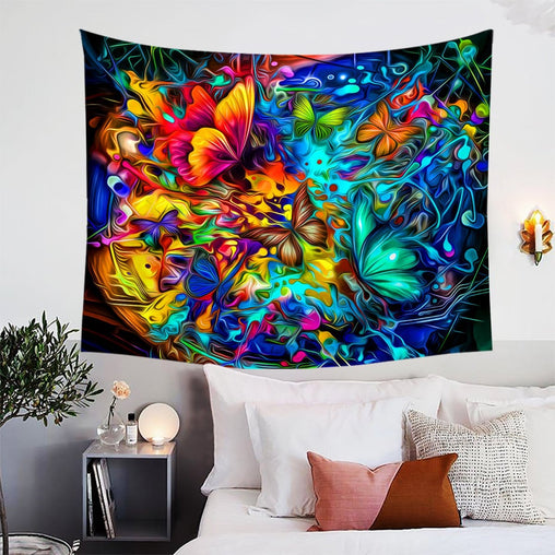 Butterfly Burst Tapestry-Butterfly Burst-Little Squiffy