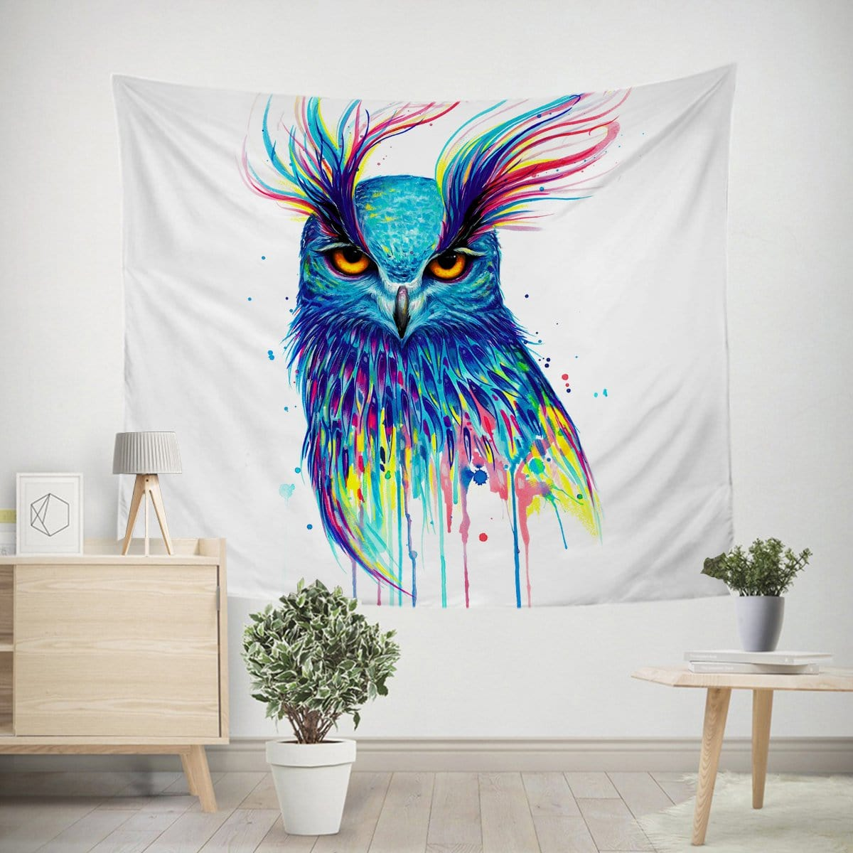 Into the Blue Owl Tapestry-Little Squiffy