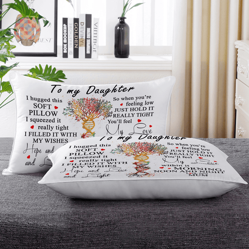 I Hugged This Pillow Personalised Pillow Cases-Custom Design Personalised-Little Squiffy