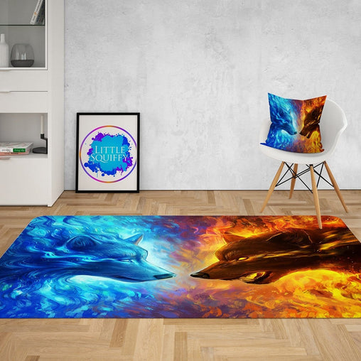 Fire and Ice Mat