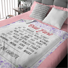 We Hugged This Personalised Squiffy Minky Blanket-Personalised-Little Squiffy
