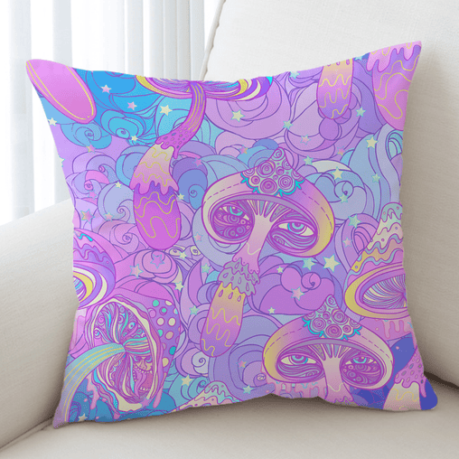 Magic Mushroom Cushion Cover-Magic Mushroom-Little Squiffy