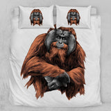 Orangutan Quilt Cover Set