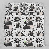 Cheeky Panda Quilt Cover Set