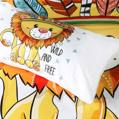 Wild and Free Cub Quilt Cover Set-Little Squiffy