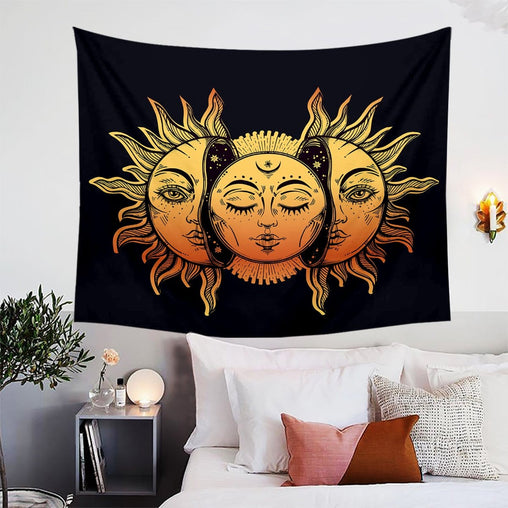Sun And Moon Tapestry-Sun And Moon-Little Squiffy