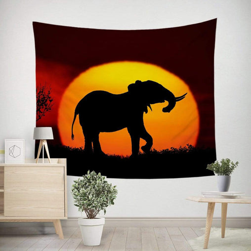 African Sunset Tapestry-Little Squiffy