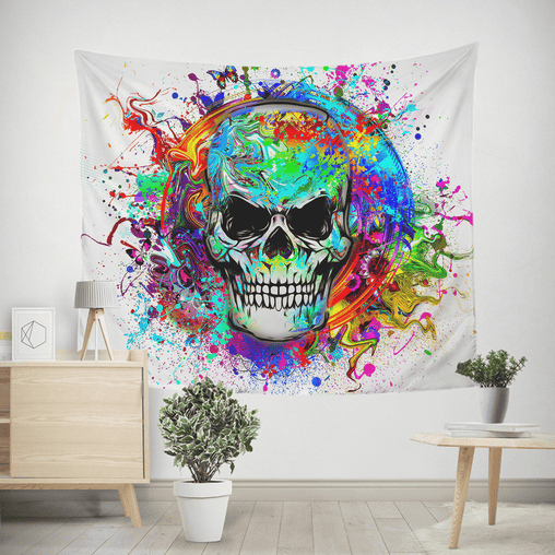 Skull Of Eternity Tapestry-Skull Of Eternity-Little Squiffy