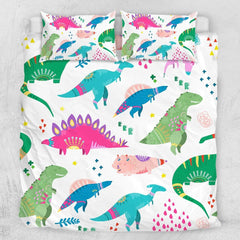 Dinosaur Wonderland Quilt Cover Set-Dinosaur Wonderland-Little Squiffy