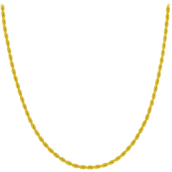 Chain: Gold-Plated Rope ~16.5