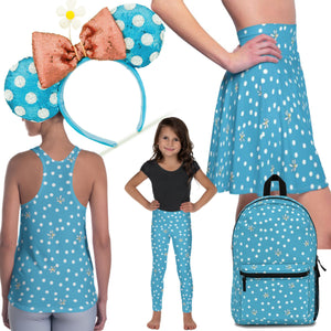 Match Your Blue Polka Dot Minnie Ears