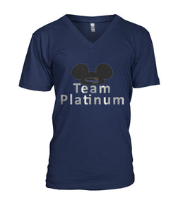 Team Platinum Mens V-Neck