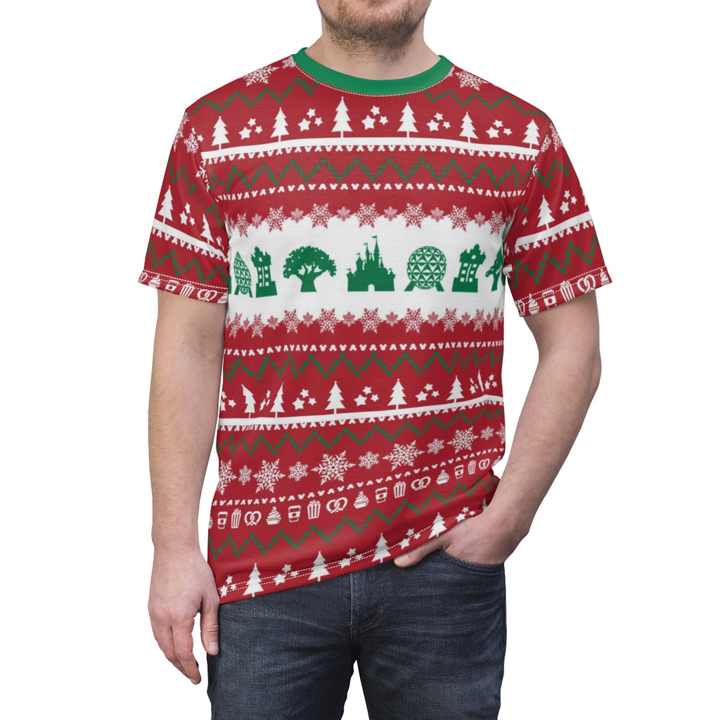 Parks Ugly Sweater Unisex Tee