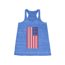 Load image into Gallery viewer, 'Merica Flowy Racerback Tank
