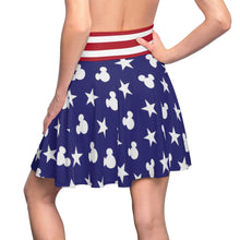 Load image into Gallery viewer, Women's 'Merica Skater Skirt