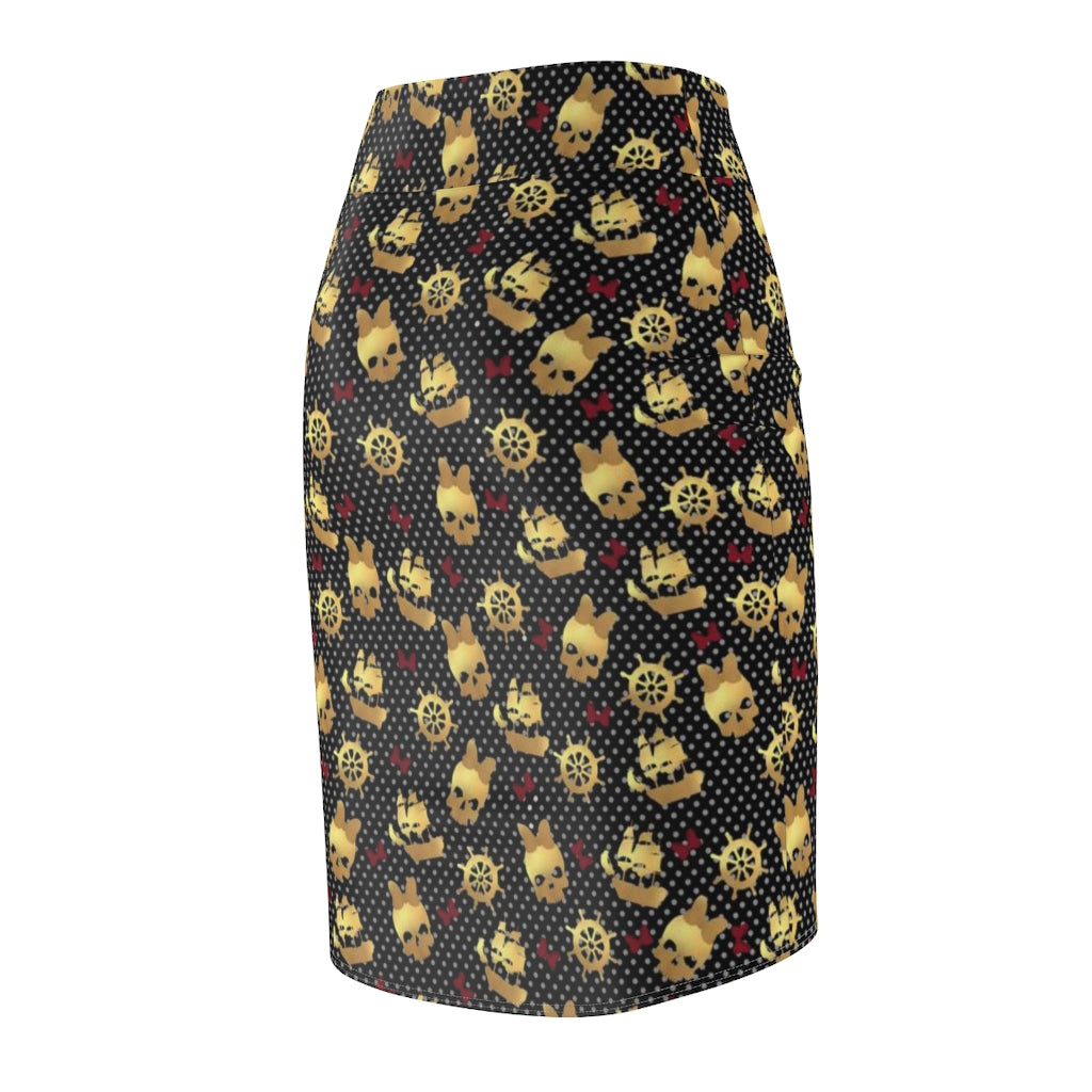 Pirates Pencil Skirt