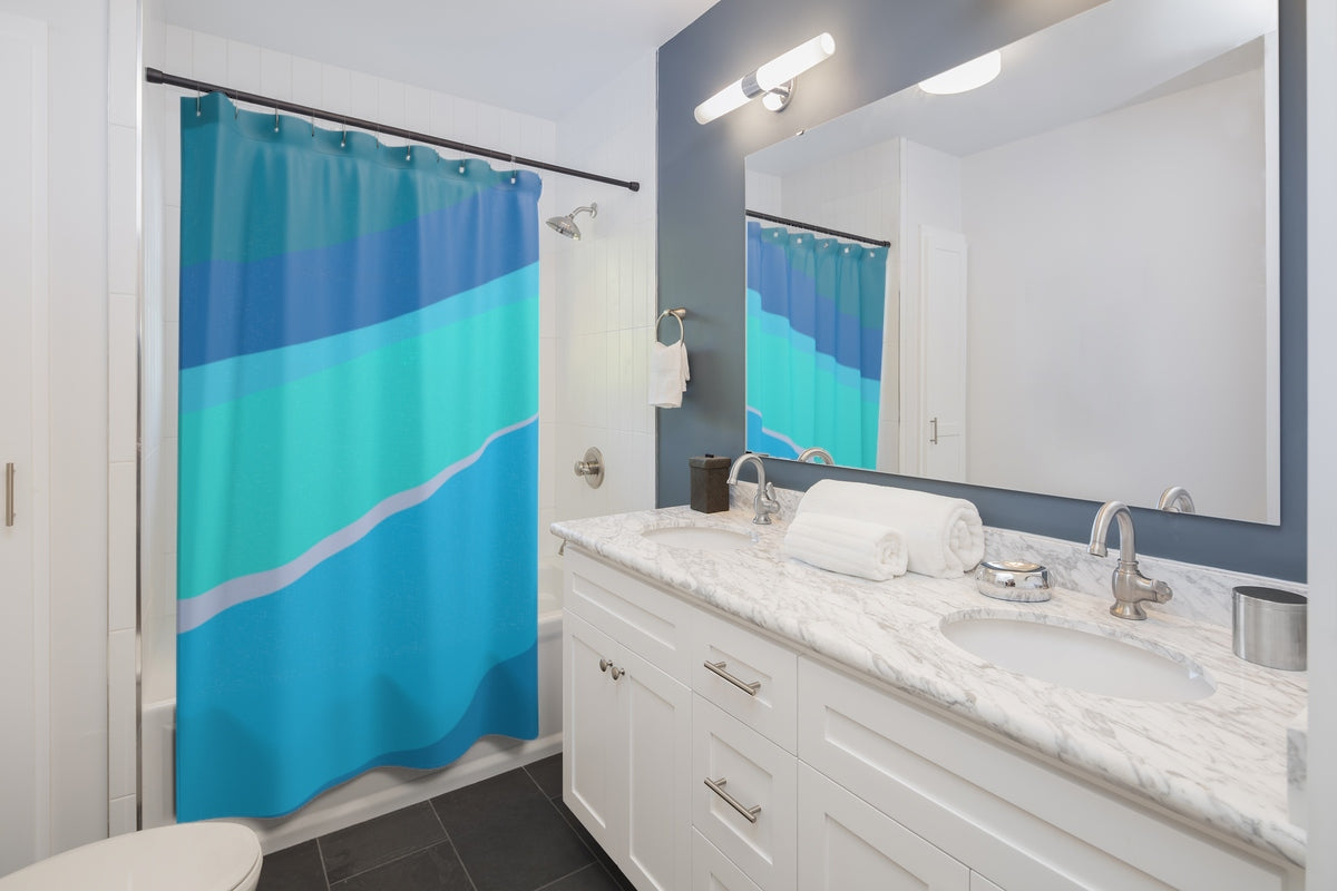Toothpaste Wall Shower Curtain