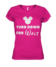 Load image into Gallery viewer, Turn Down for Walt Women's V-Neck