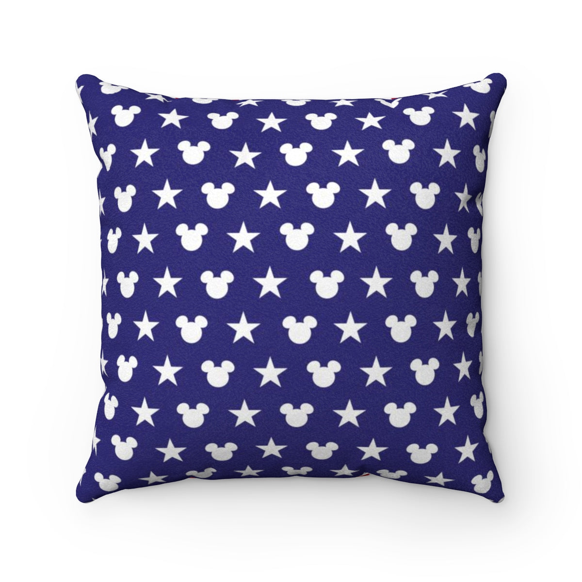 'Merica Faux Suede Square Pillow