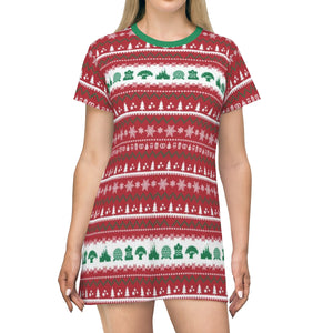 Parks Ugly Sweater T-shirt Dress