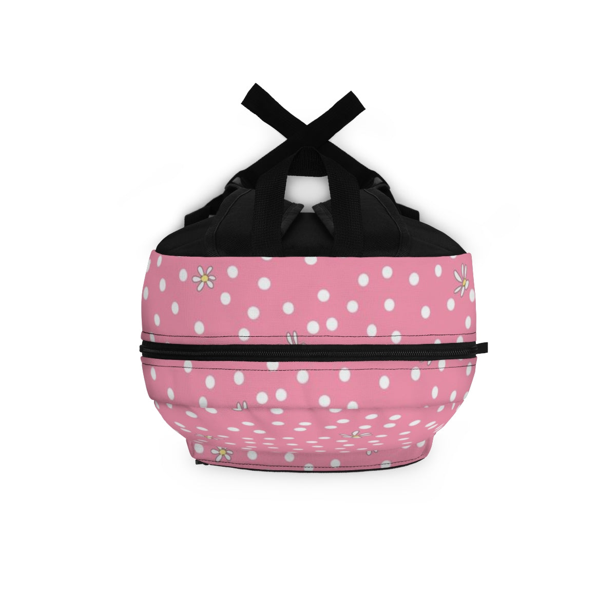 Pink Polka Dot Backpack (Made in USA)