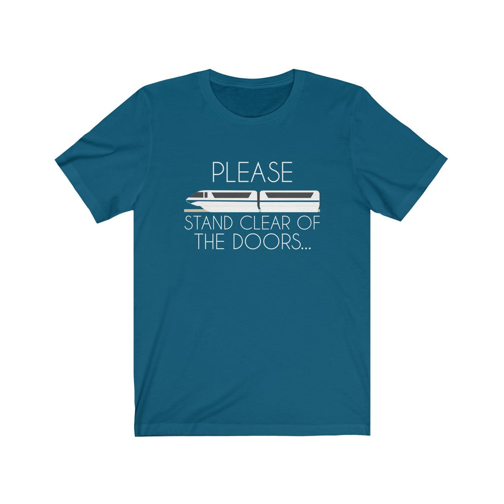 Please Stand Clear Unisex T-Shirt - English