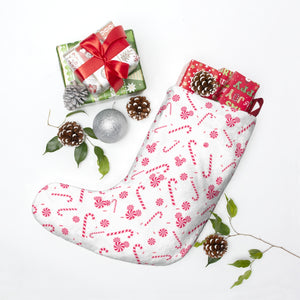 Candy Cane Christmas Stockings