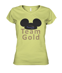 Team Gold  Women's V-Neck