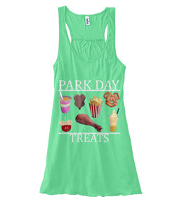 Park Day Treats Women's Flowy Tank
