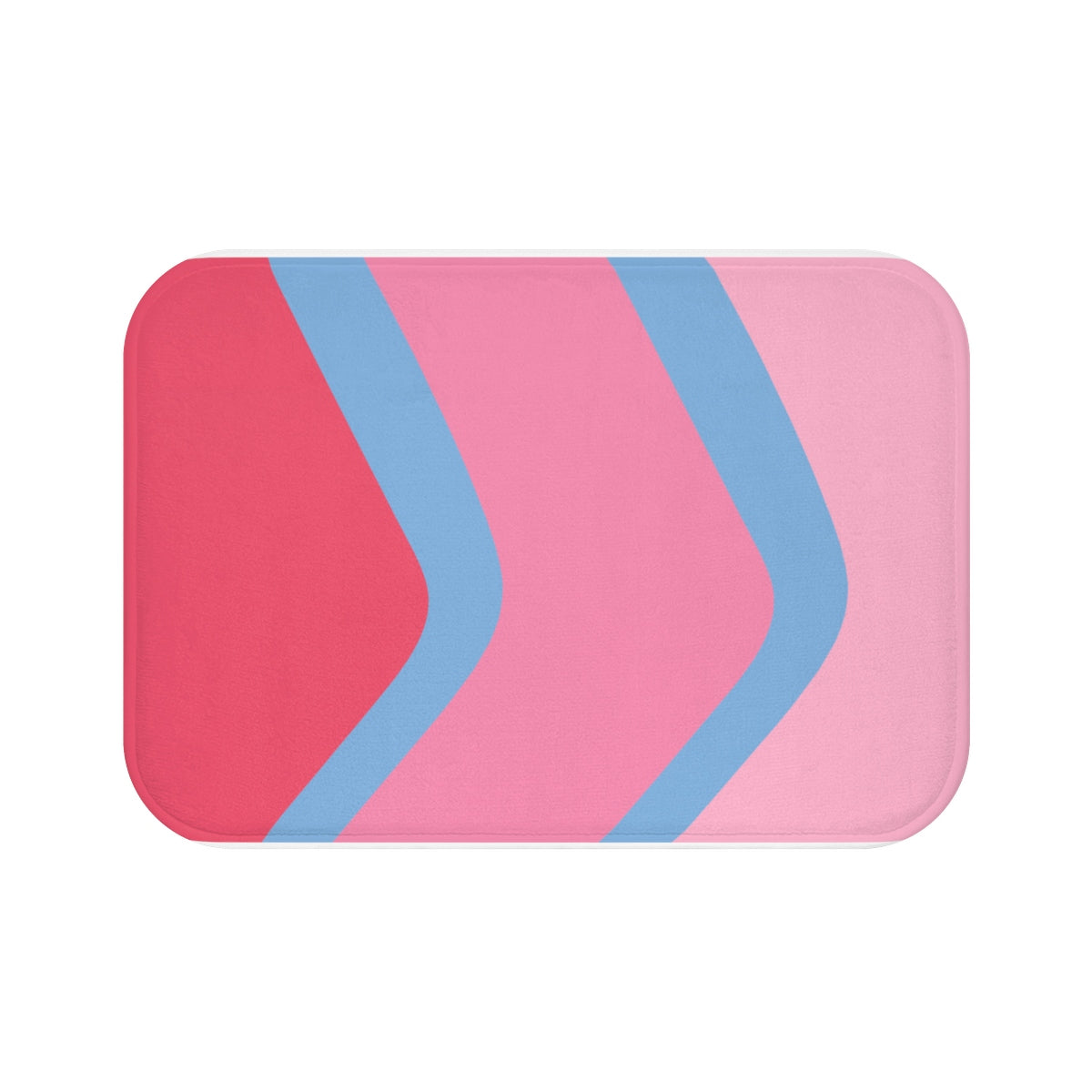 Bubble Gum Wall Bath Mat