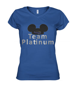 Team Platinum Women's V-Neck