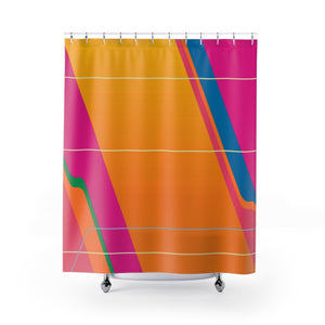 Carousel of Progress Wall Shower Curtain