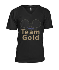 Team Gold  Mens V-Neck