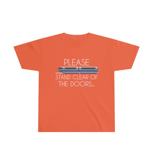 Please Stand Clear Youth Cotton Tee - English