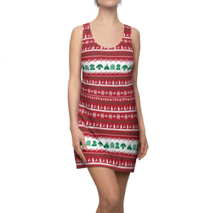 Parks Ugly Sweater Racerback Dress