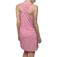 Load image into Gallery viewer, Pink Polk Dot Racerback Dress