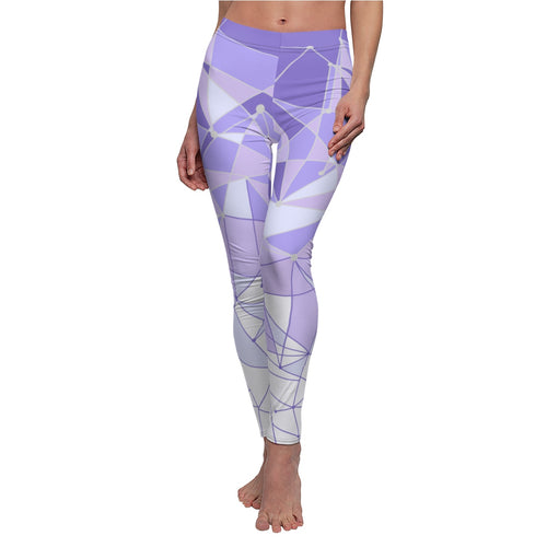 Purple Wall Leggings