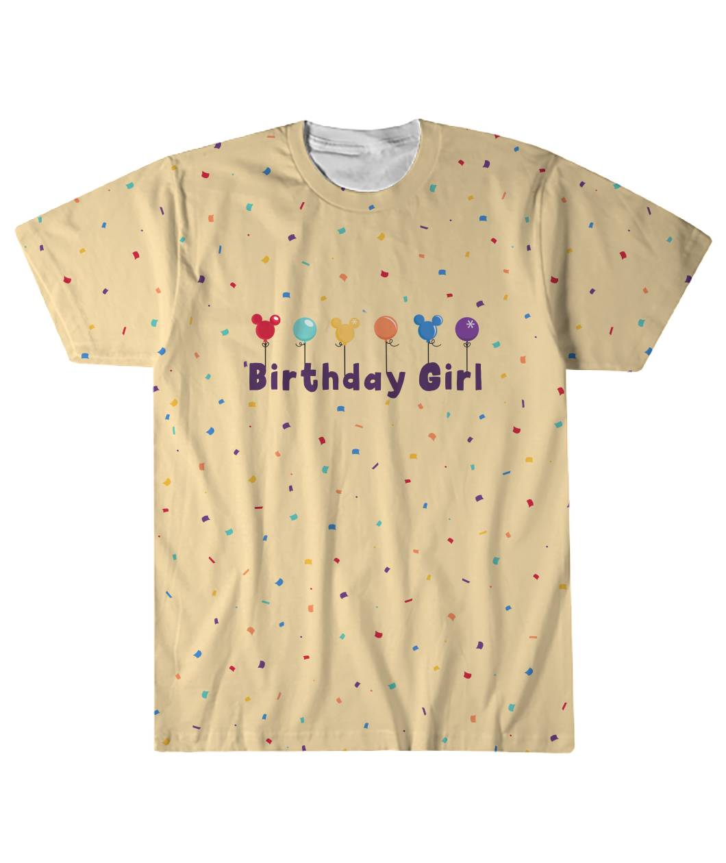 Confetti Birthday Girl Tee
