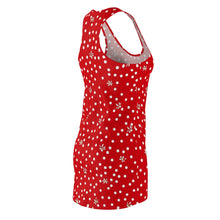 Load image into Gallery viewer, Red Polka Dot Racerback Dress